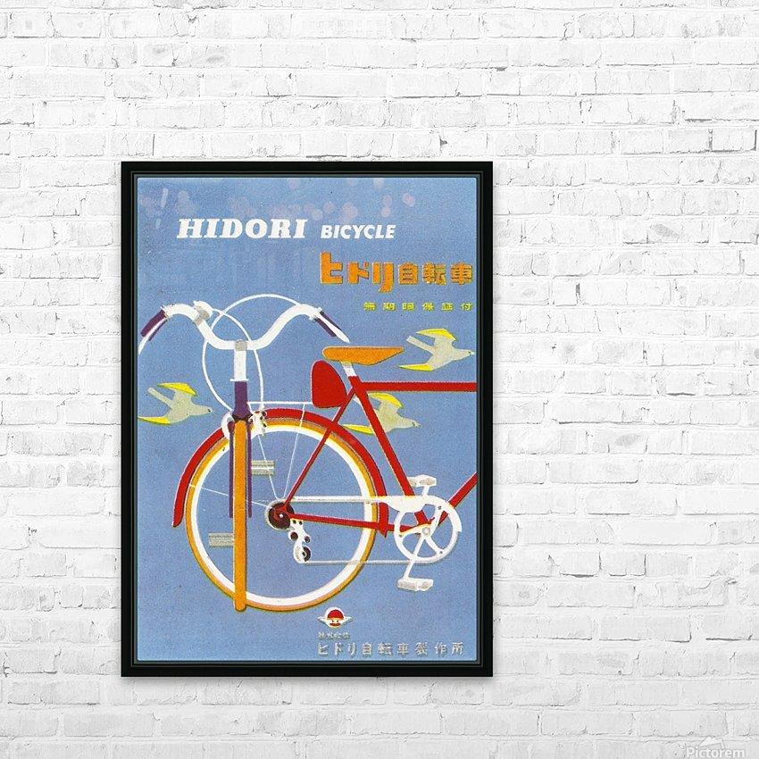 Bicycle Hidori HD sublimation métal imprimé avec décoration flotteur cadre (boîte)