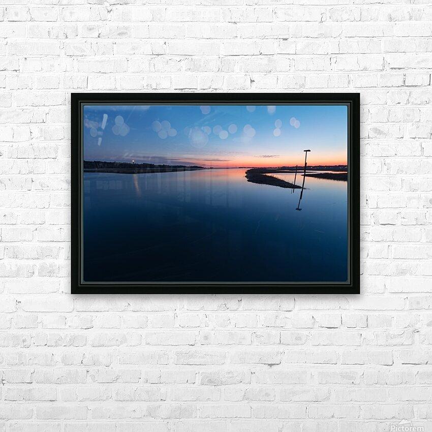 Assateague Light ap 2763 HD Sublimation Metal print with Decorating Float Frame (BOX)