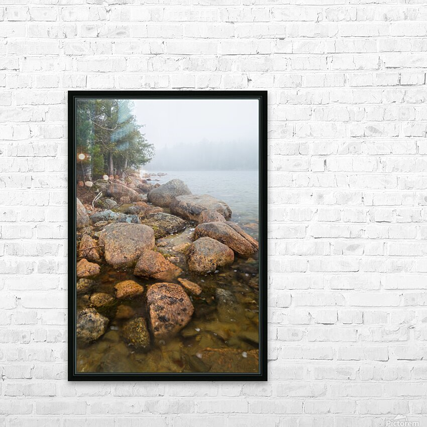 Boulders ap 2369 HD Sublimation Metal print with Decorating Float Frame (BOX)