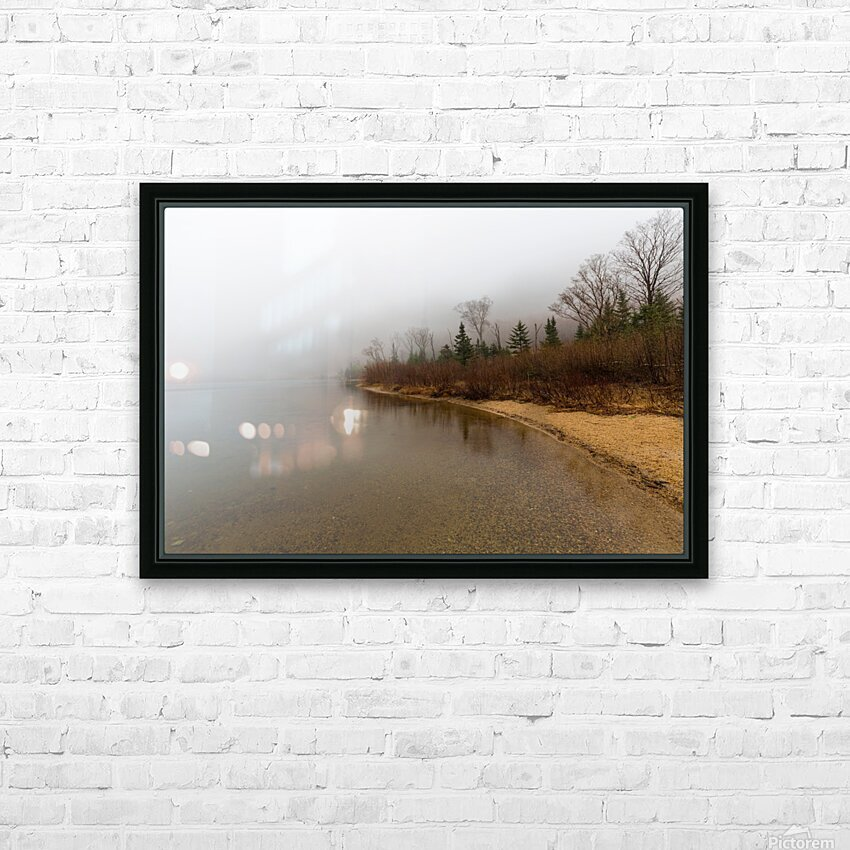 Profile Lake ap 2192 HD Sublimation Metal print with Decorating Float Frame (BOX)