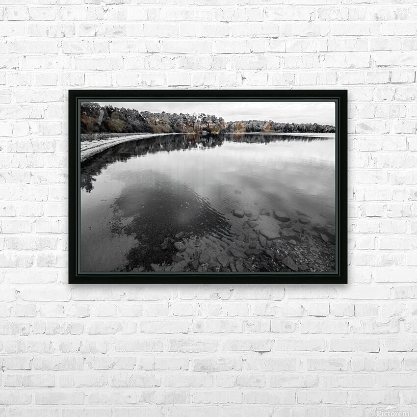 Reflection ap 2595 B&W HD Sublimation Metal print with Decorating Float Frame (BOX)