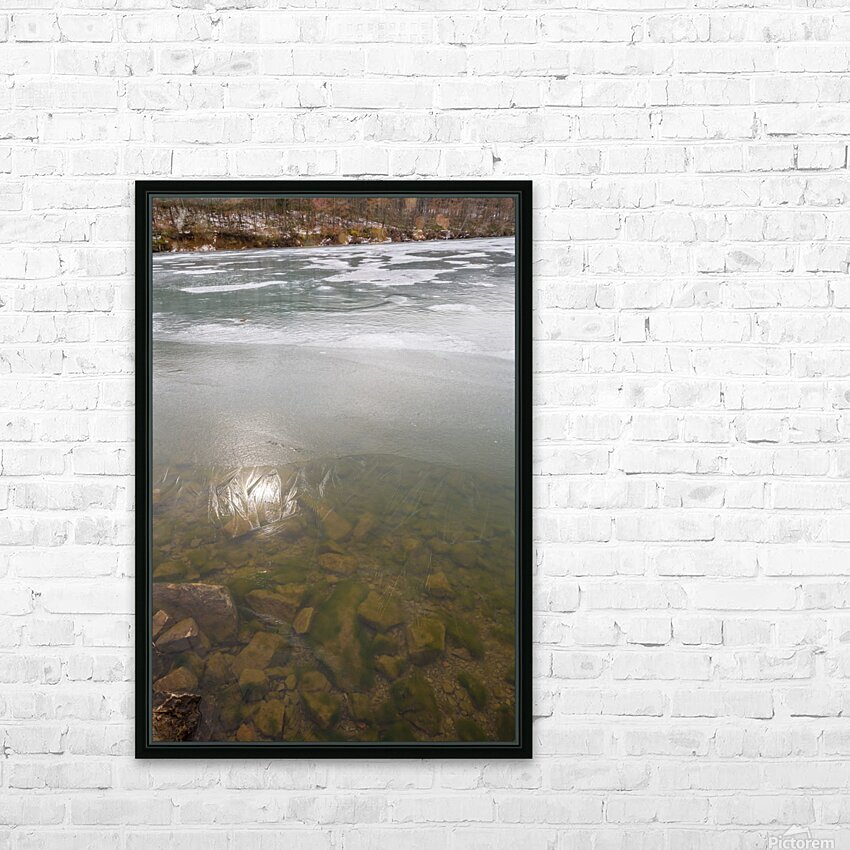 Morning Sun ap 2934 HD Sublimation Metal print with Decorating Float Frame (BOX)