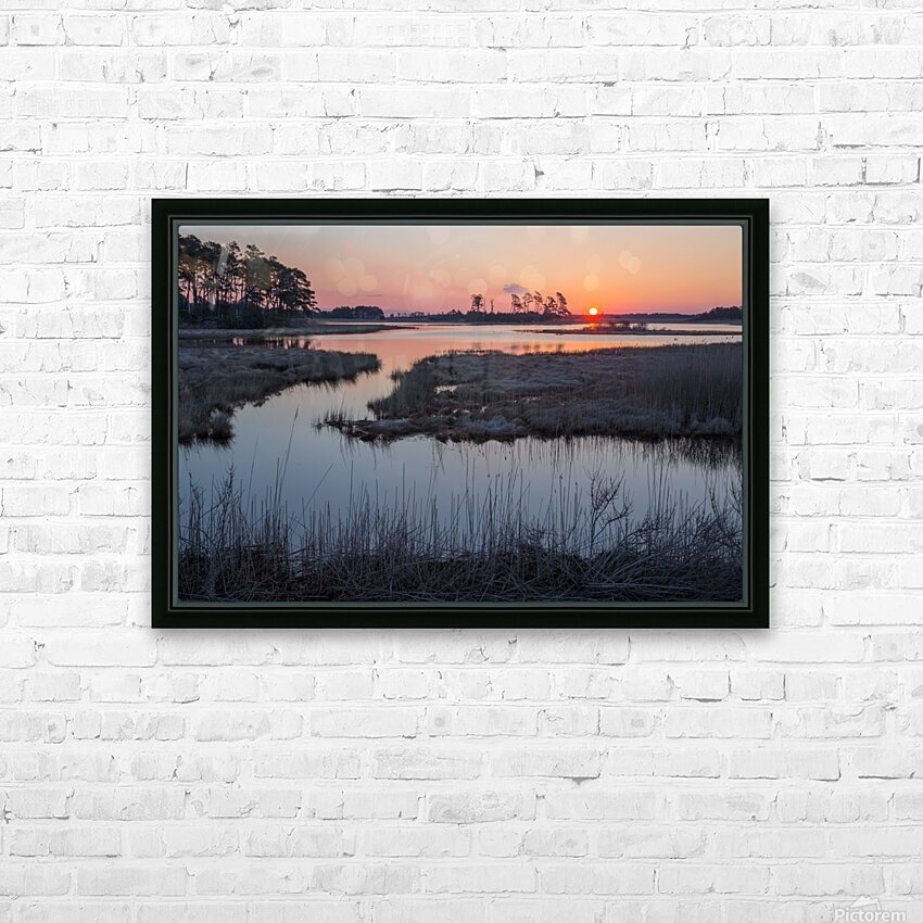 Sunrise ap 2786 HD Sublimation Metal print with Decorating Float Frame (BOX)