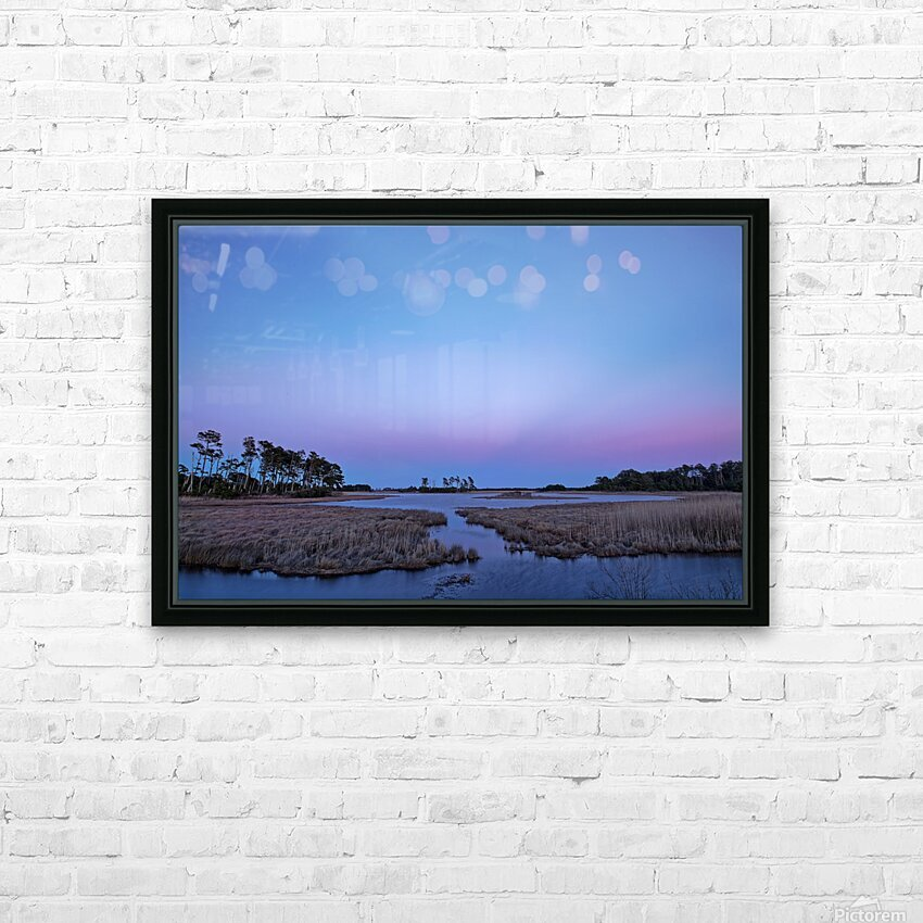 Twilight Shadow ap 2789 HD Sublimation Metal print with Decorating Float Frame (BOX)