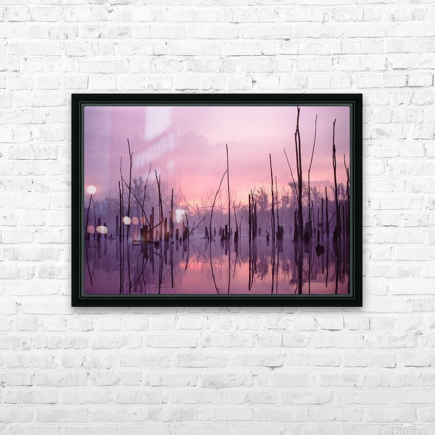 Sunrise ap 1501 HD Sublimation Metal print with Decorating Float Frame (BOX)