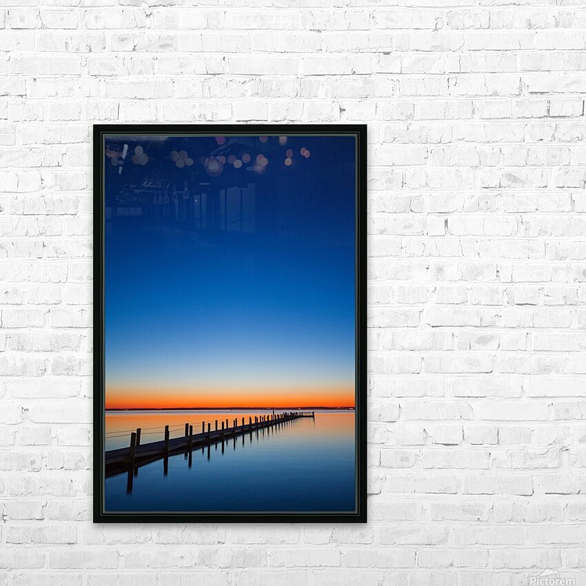 Twilight Sunset ap 1607 HD Sublimation Metal print with Decorating Float Frame (BOX)