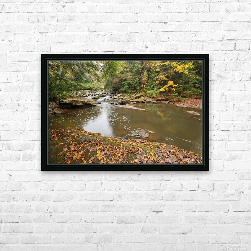 Fall Color ap 2453 HD Sublimation Metal print with Decorating Float Frame (BOX)