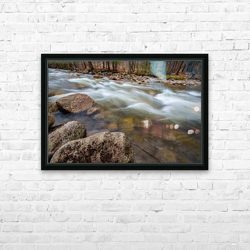 Rapids ap 2158 HD Sublimation Metal print with Decorating Float Frame (BOX)