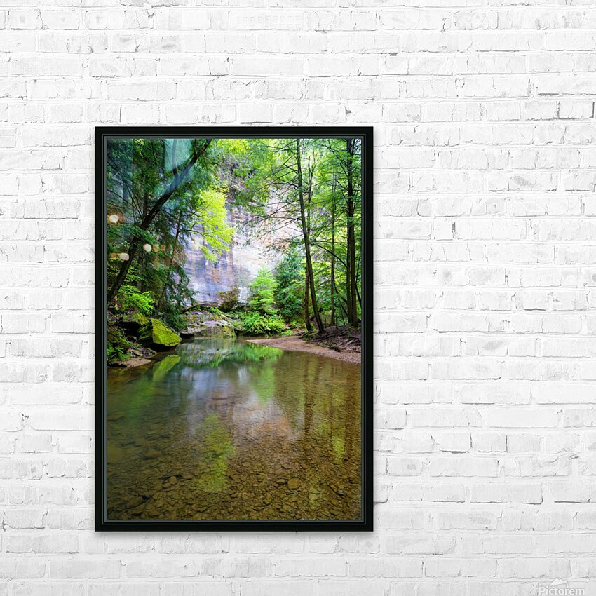 Queer Creek ap 2060 HD Sublimation Metal print with Decorating Float Frame (BOX)