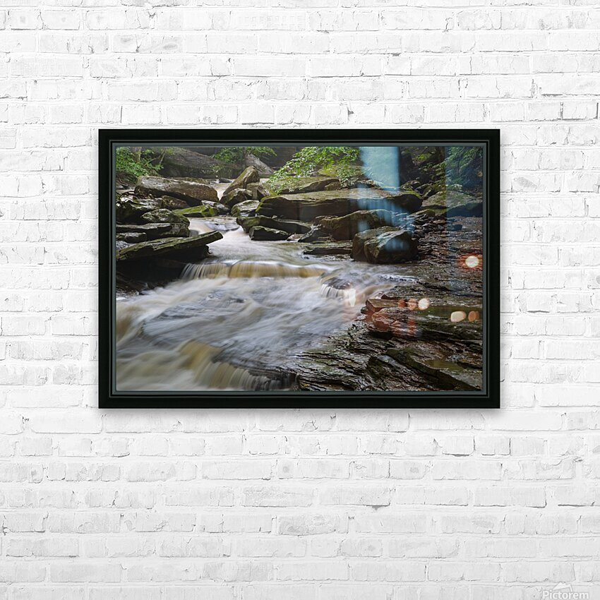 Roaring Run ap 1926 HD Sublimation Metal print with Decorating Float Frame (BOX)