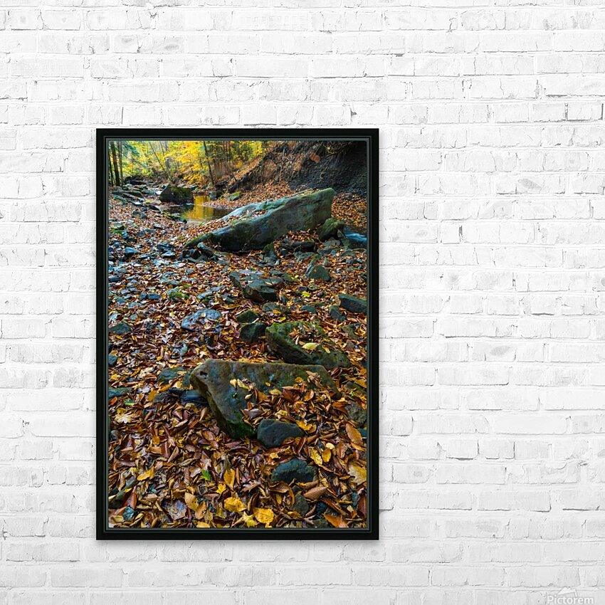 Roaring Run ap 1958 HD Sublimation Metal print with Decorating Float Frame (BOX)