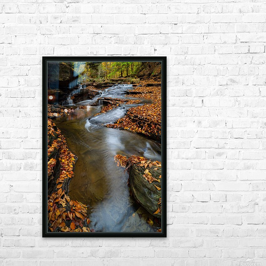 Roaring Run ap 1960 HD Sublimation Metal print with Decorating Float Frame (BOX)