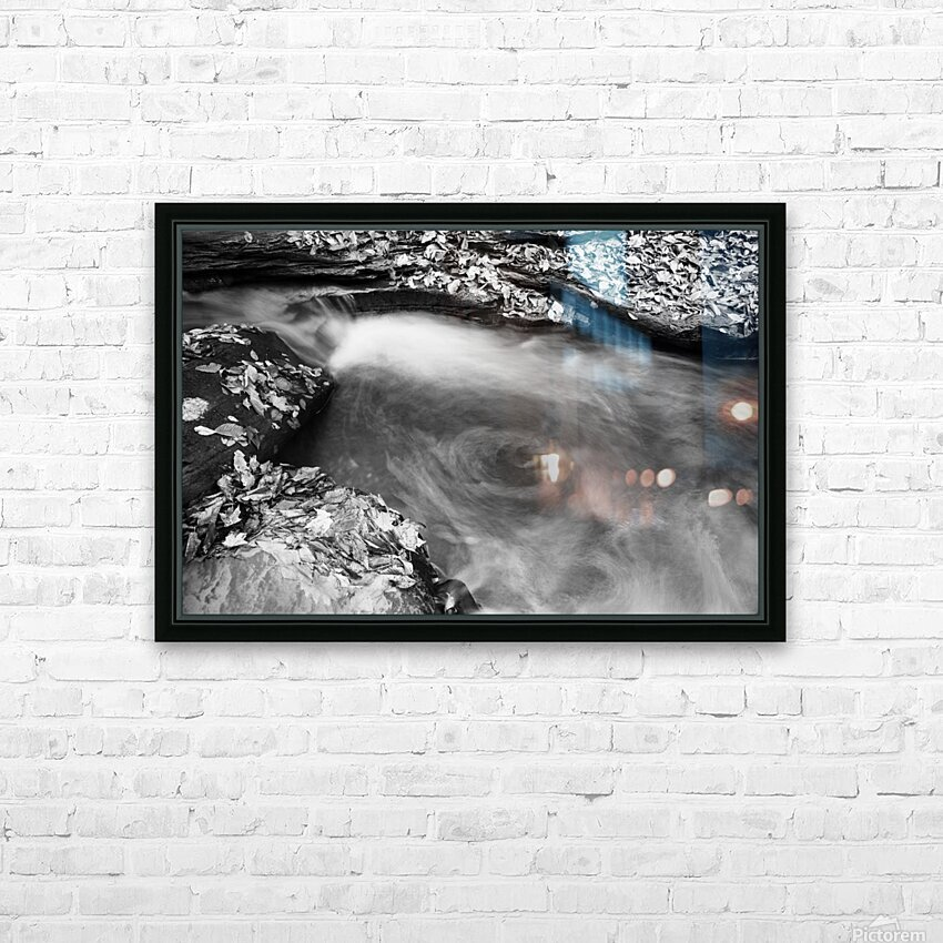 Roaring Run ap 1961 B&W HD Sublimation Metal print with Decorating Float Frame (BOX)