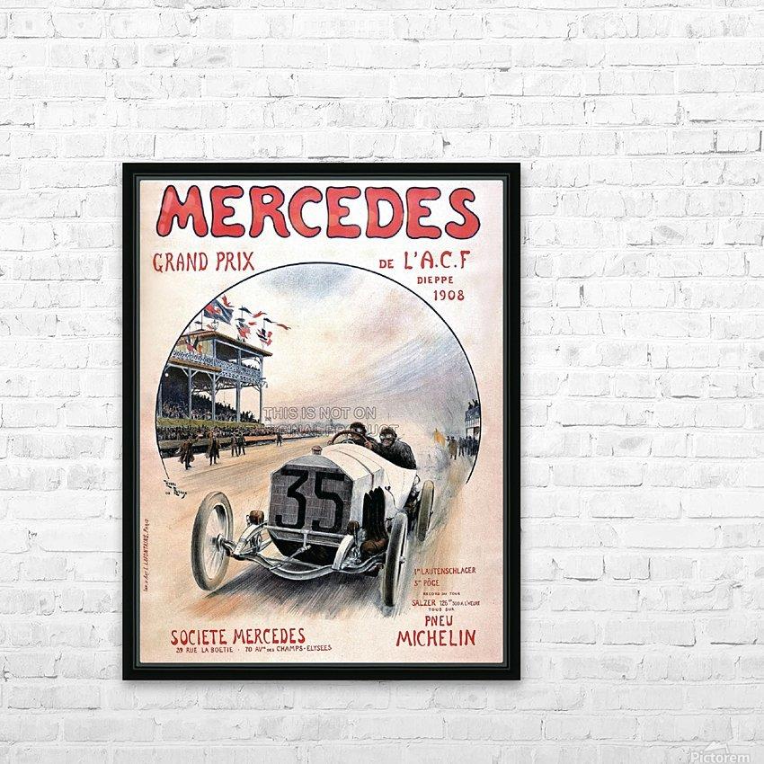 Mercedes Grand Prix HD sublimation métal imprimé avec décoration flotteur cadre (boîte)