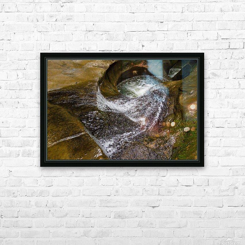 Devils Bathtub ap 2055 HD Sublimation Metal print with Decorating Float Frame (BOX)
