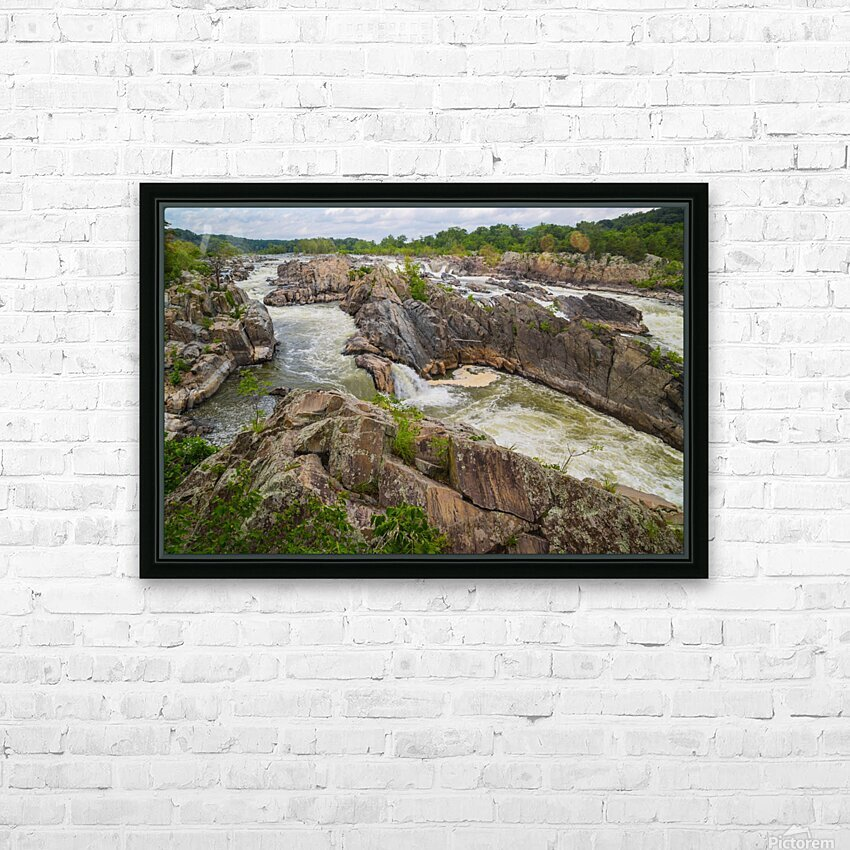 Great Falls ap 2019 HD Sublimation Metal print with Decorating Float Frame (BOX)