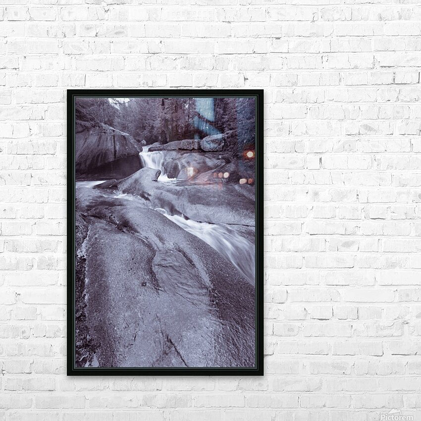 The Basin ap 2162 B&W HD Sublimation Metal print with Decorating Float Frame (BOX)