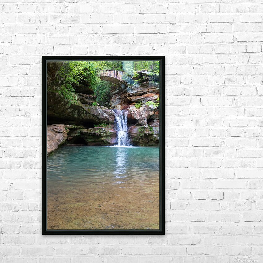 Upper Falls ap 2058 HD Sublimation Metal print with Decorating Float Frame (BOX)