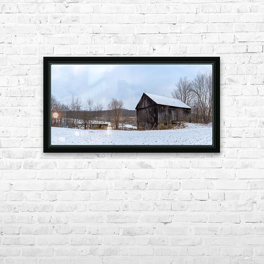 Classic Barn apmi 1528 HD Sublimation Metal print with Decorating Float Frame (BOX)