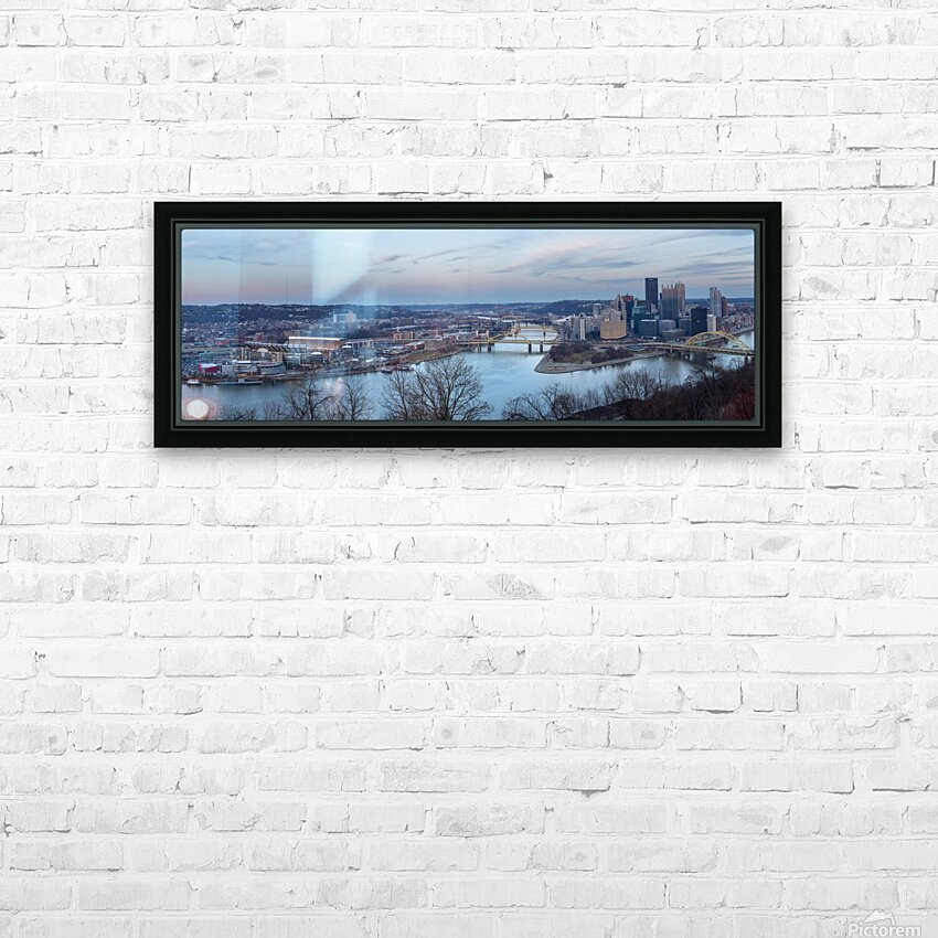 Twilight apmi 1518 HD Sublimation Metal print with Decorating Float Frame (BOX)