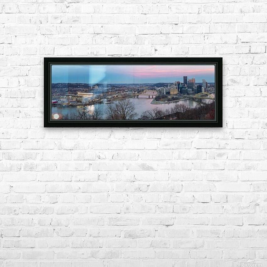 Twilight apmi 1521 HD Sublimation Metal print with Decorating Float Frame (BOX)