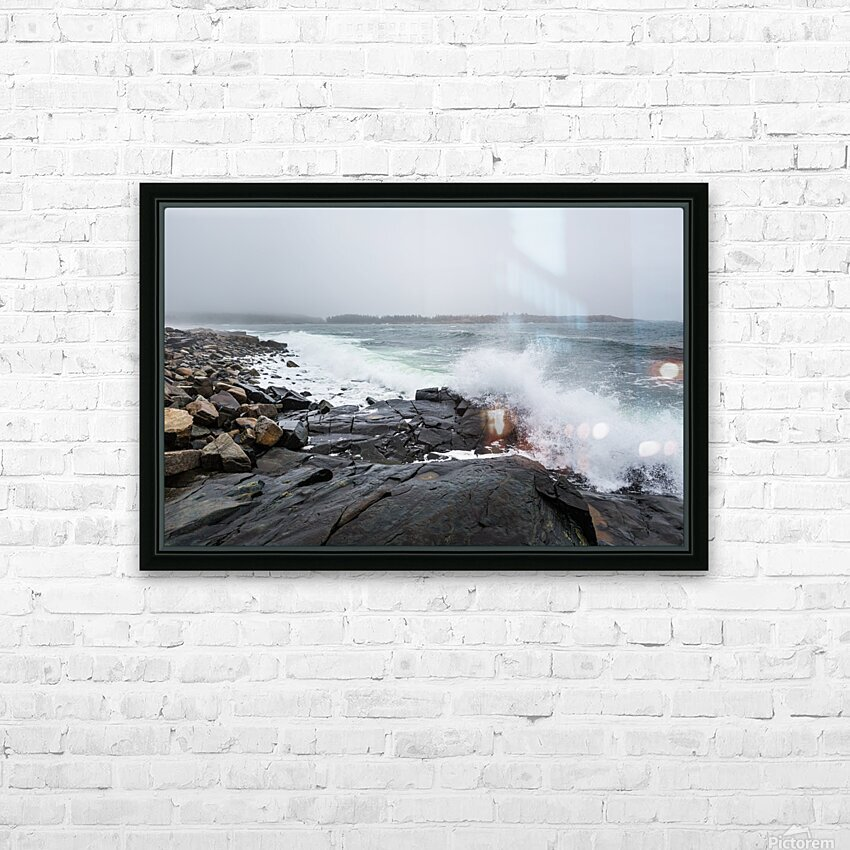Boulders ap 2260 HD Sublimation Metal print with Decorating Float Frame (BOX)
