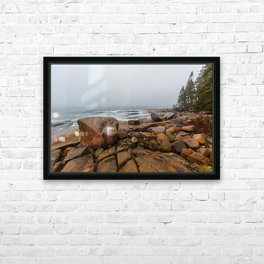 Boulders ap 2254 HD Sublimation Metal print with Decorating Float Frame (BOX)