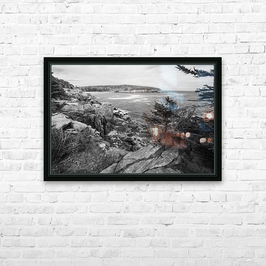 Acadia ap 2376 B&W HD Sublimation Metal print with Decorating Float Frame (BOX)