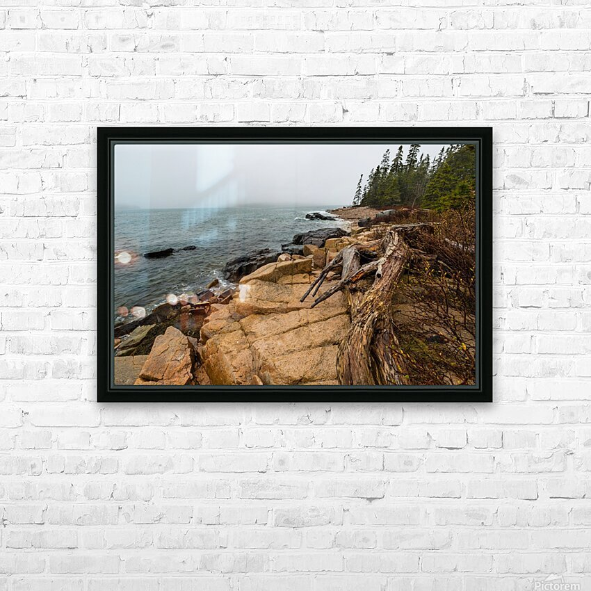 Driftwood ap 2257 HD Sublimation Metal print with Decorating Float Frame (BOX)