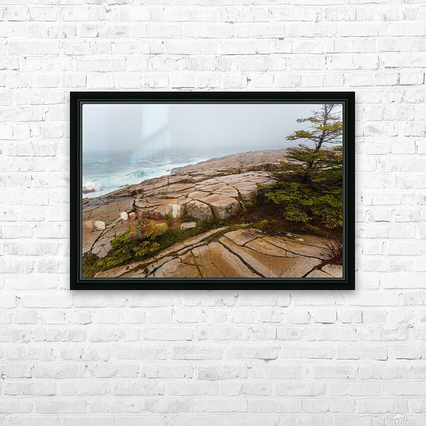 Fog ap 2262 HD Sublimation Metal print with Decorating Float Frame (BOX)