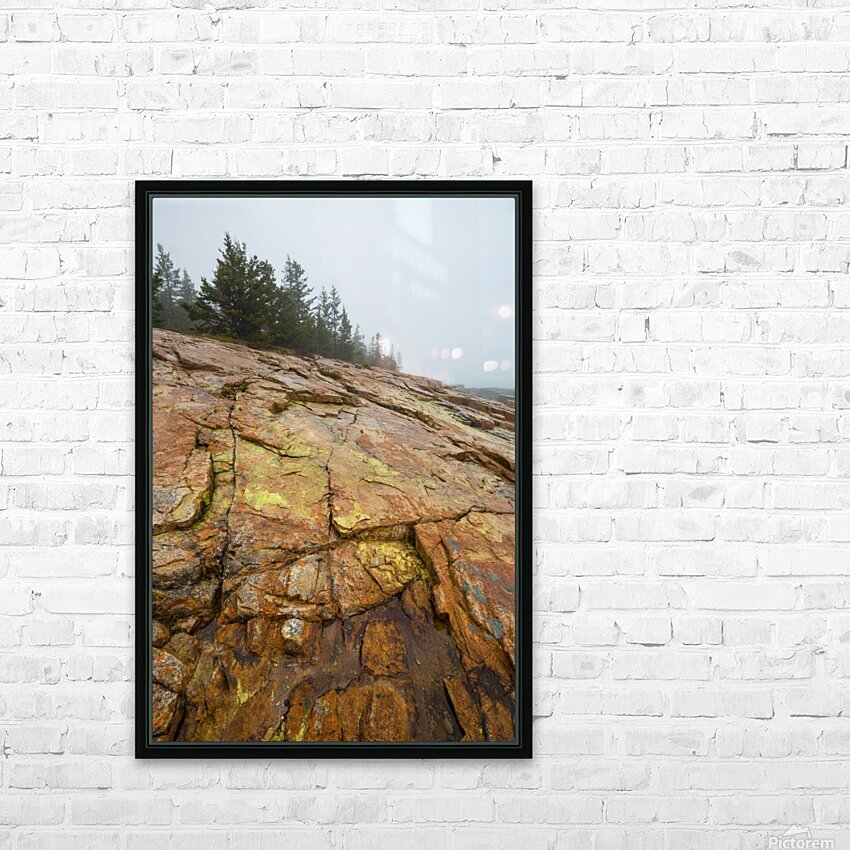 Granite Rock ap 2285 HD Sublimation Metal print with Decorating Float Frame (BOX)
