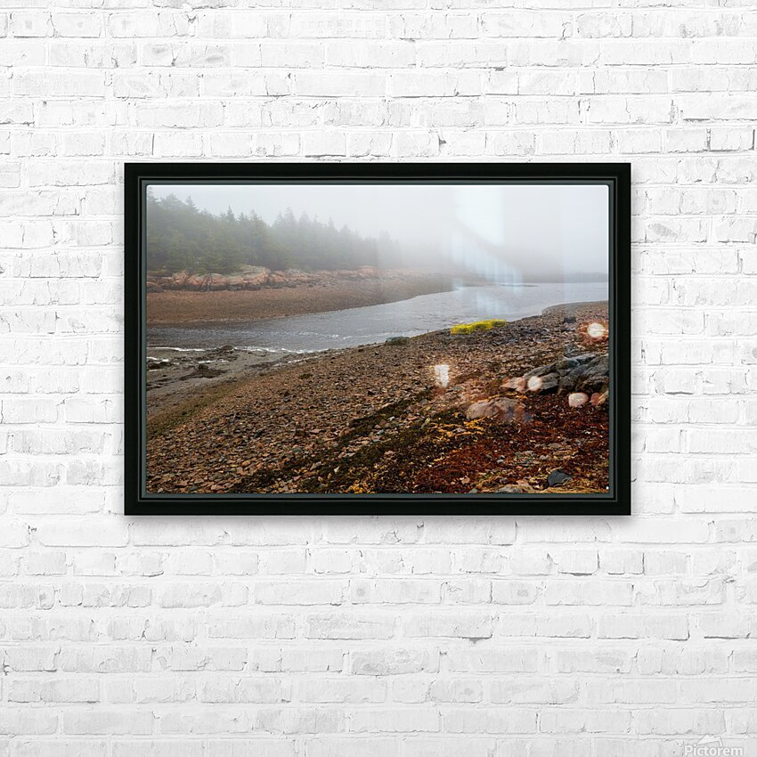 Low Tide ap 2296 HD Sublimation Metal print with Decorating Float Frame (BOX)