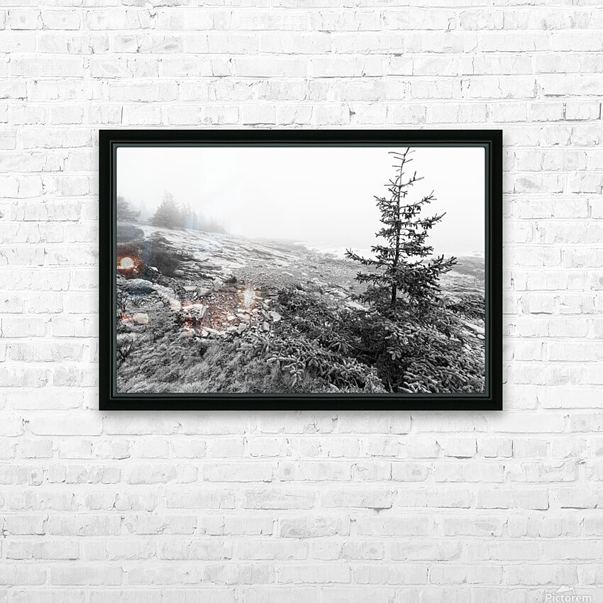 Lone Pine ap 2284 B&W HD Sublimation Metal print with Decorating Float Frame (BOX)