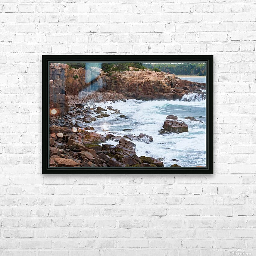 Monument Cove ap 1536 HD Sublimation Metal print with Decorating Float Frame (BOX)