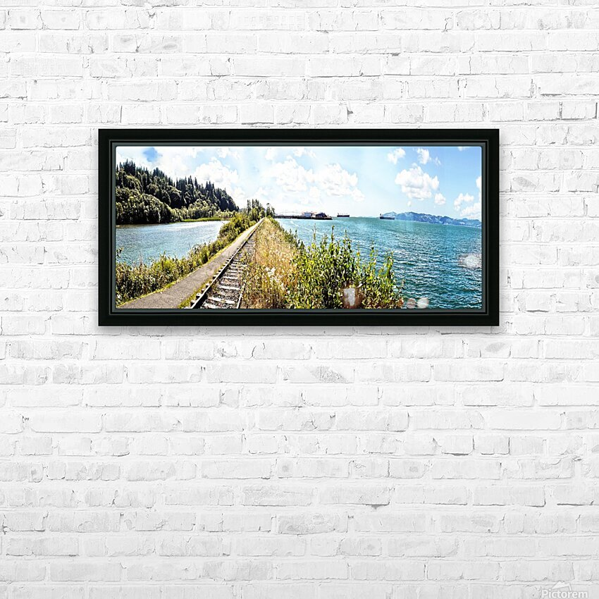 One Day in Astoria HD Sublimation Metal print with Decorating Float Frame (BOX)