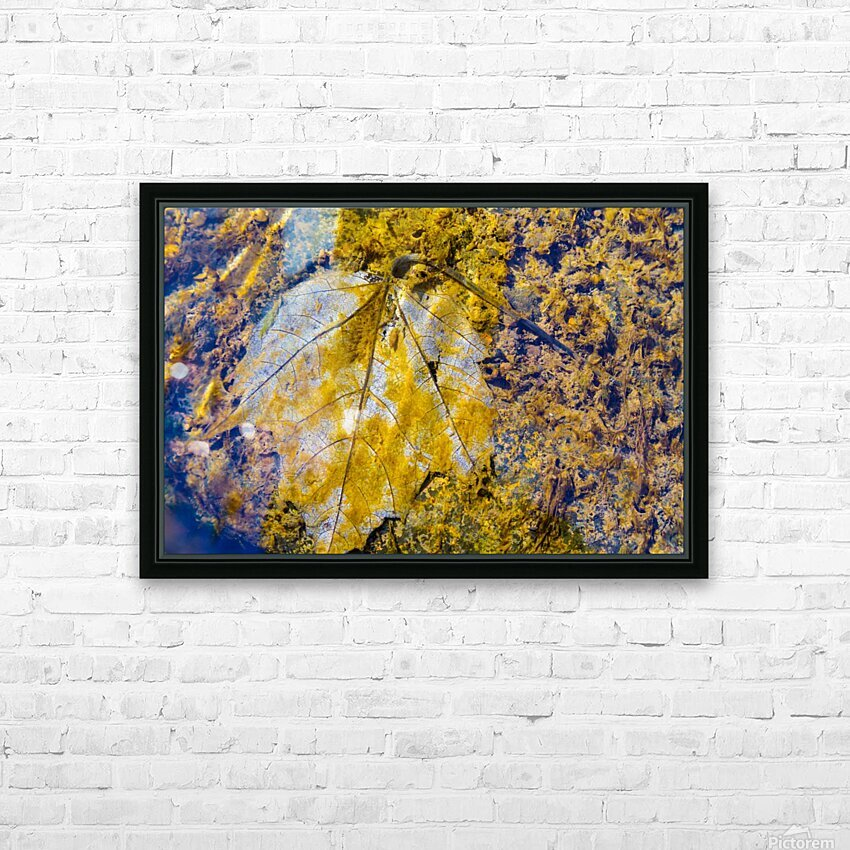 Water Colors ap 1590 HD Sublimation Metal print with Decorating Float Frame (BOX)