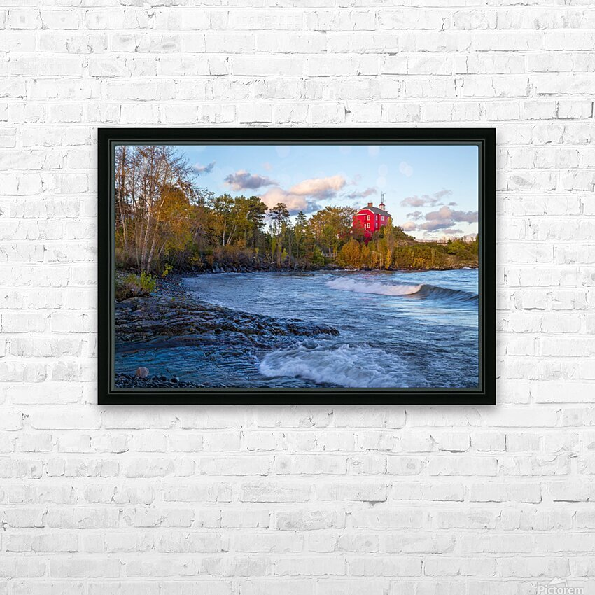 Big Red ap 2684 HD Sublimation Metal print with Decorating Float Frame (BOX)