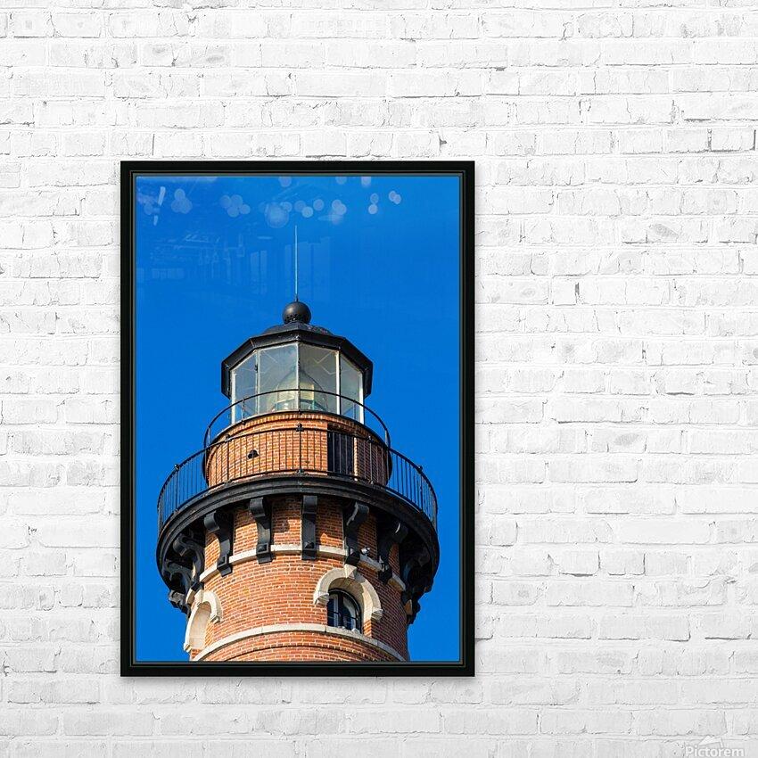 Fresnel Lens ap 2444 HD Sublimation Metal print with Decorating Float Frame (BOX)