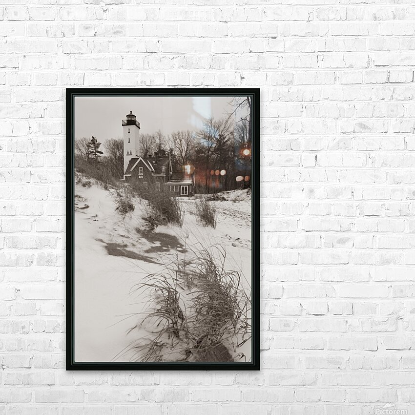 Lighthouse ap 2148 HD Sublimation Metal print with Decorating Float Frame (BOX)