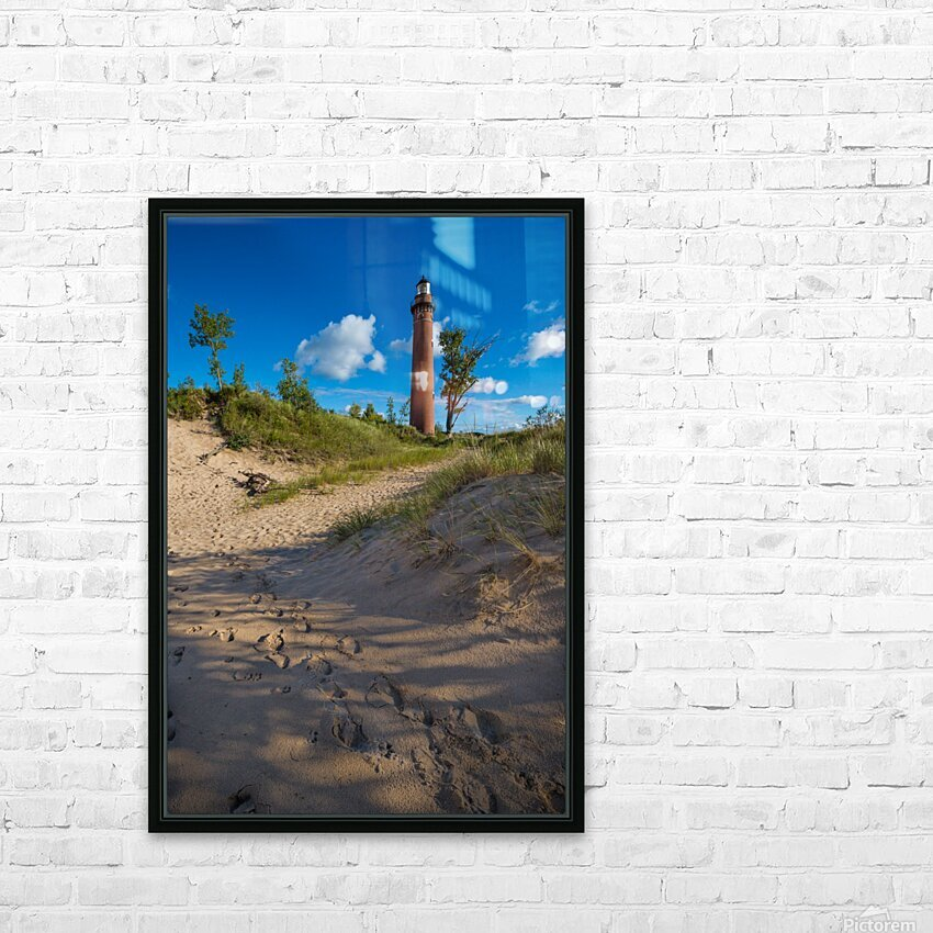Little Sable ap 2442 HD Sublimation Metal print with Decorating Float Frame (BOX)