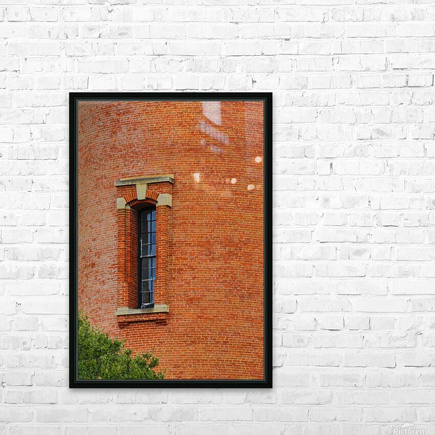 Window Study ap 2095 HD Sublimation Metal print with Decorating Float Frame (BOX)