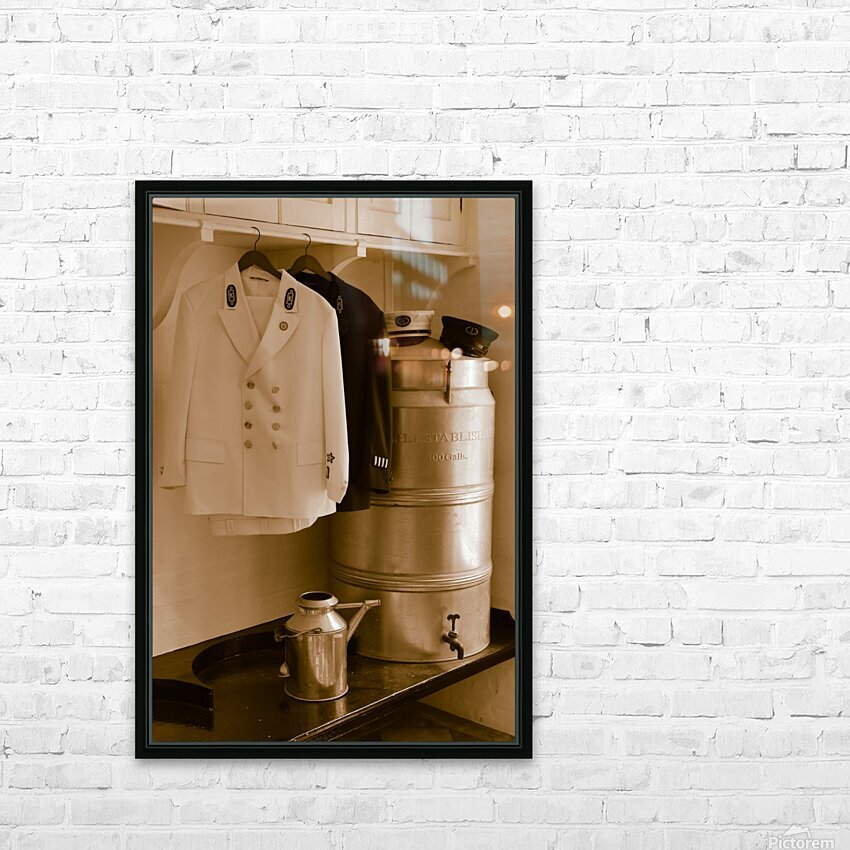 Still Life ap 2099 HD Sublimation Metal print with Decorating Float Frame (BOX)