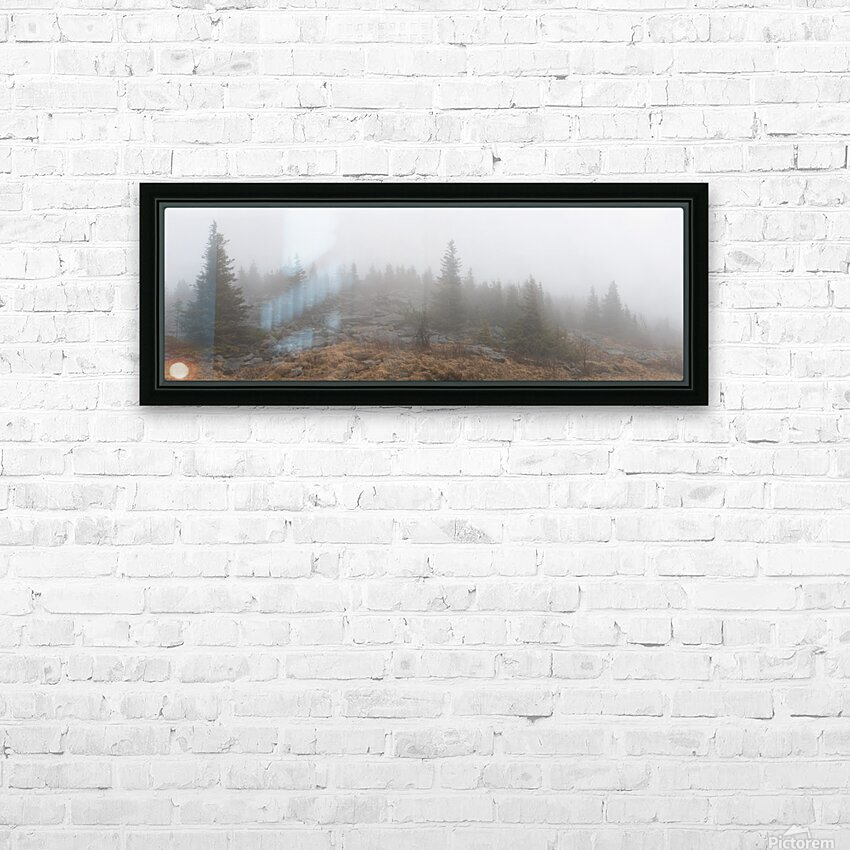 Pines apmi 1602 HD Sublimation Metal print with Decorating Float Frame (BOX)