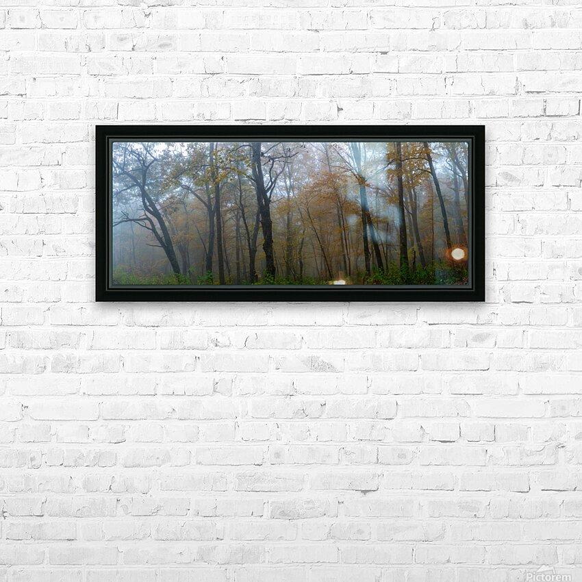 Treeline apmi 1867 HD sublimation métal imprimé avec décoration flotteur cadre (boîte)