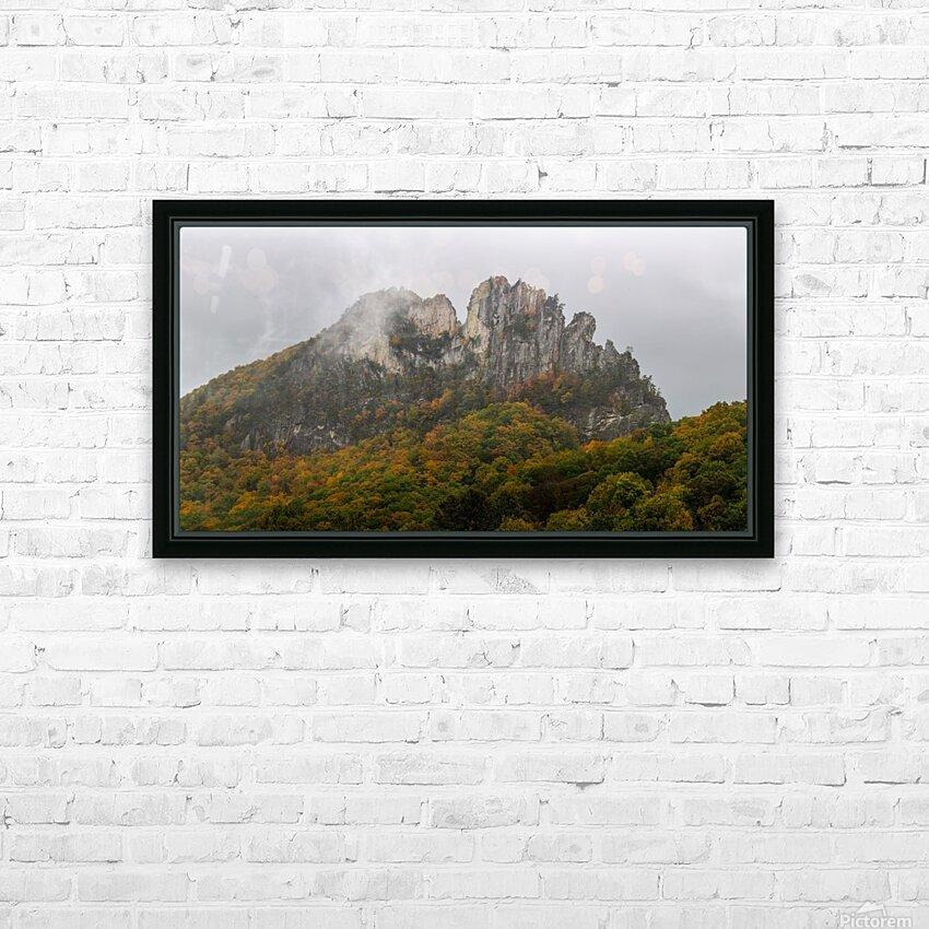 Seneca Rocks apmi 1881 HD Sublimation Metal print with Decorating Float Frame (BOX)
