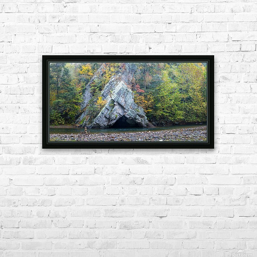 Rock Formations apmi 1868 HD Sublimation Metal print with Decorating Float Frame (BOX)