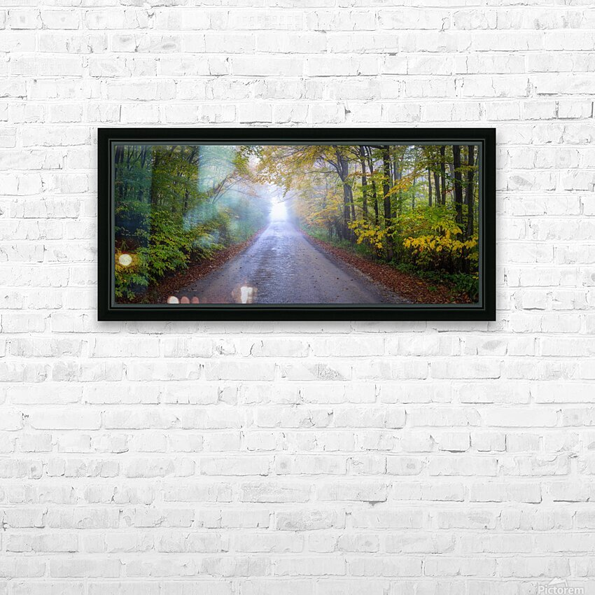 Route 75 apmi 1860 HD Sublimation Metal print with Decorating Float Frame (BOX)