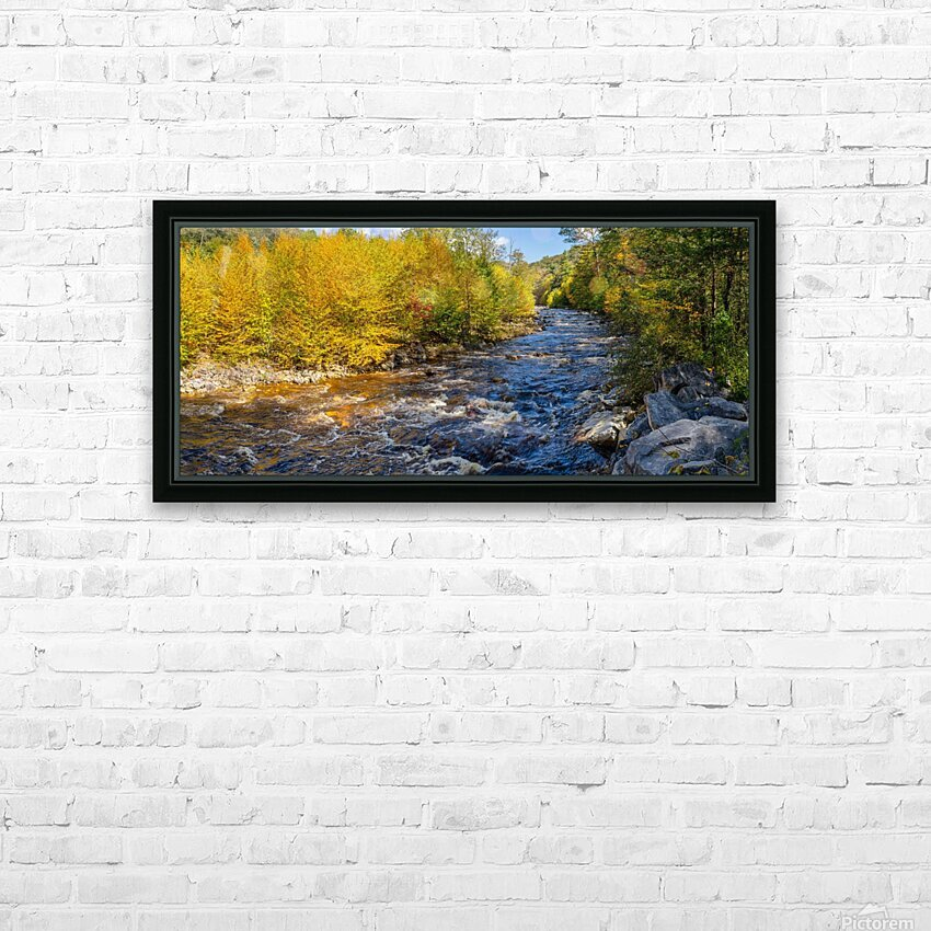 Red Creek Aspens apmi 1769 HD Sublimation Metal print with Decorating Float Frame (BOX)
