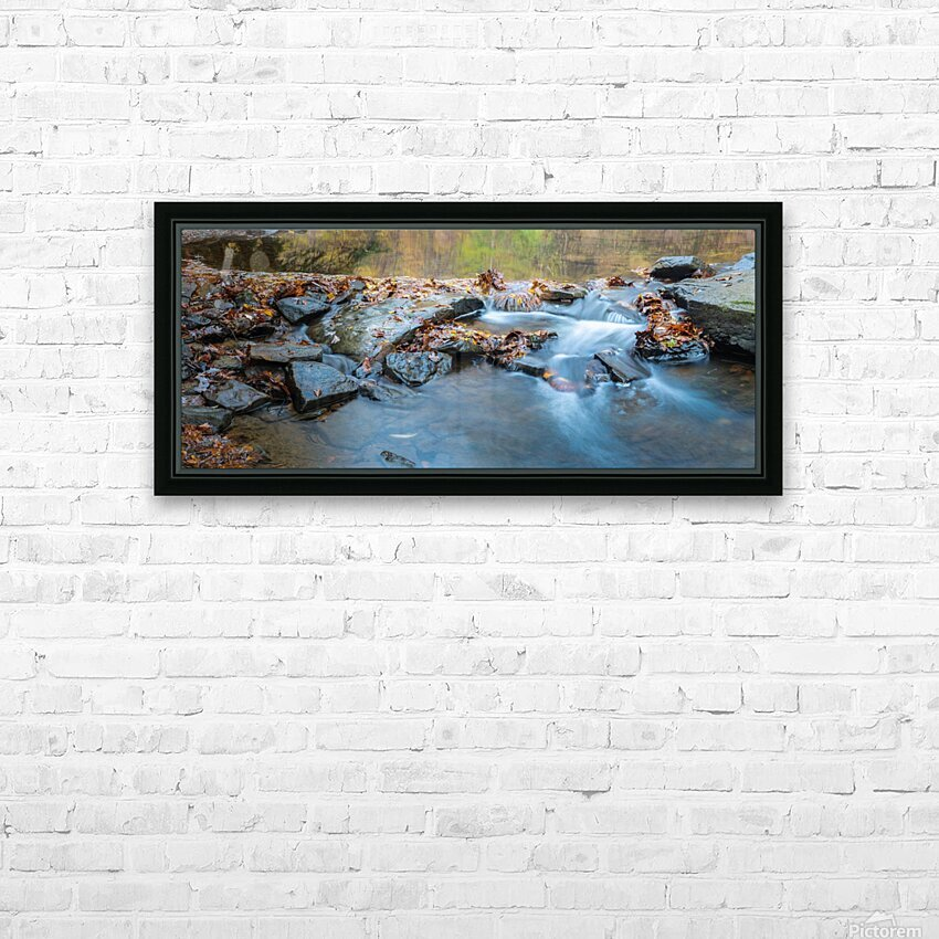 Motion and Reflection apmi 1969 HD Sublimation Metal print with Decorating Float Frame (BOX)