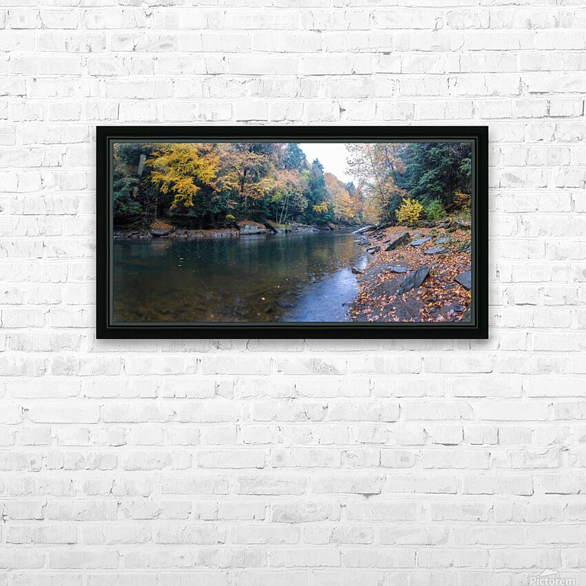 Slippery Rock Creek apmi 1961 HD Sublimation Metal print with Decorating Float Frame (BOX)